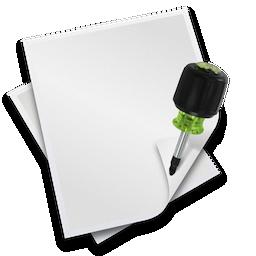 File Info Editor Icon